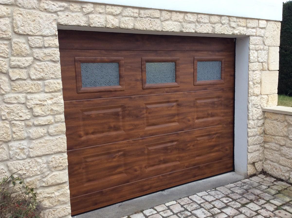 porte sectionnelle agnetz - Baie Libre