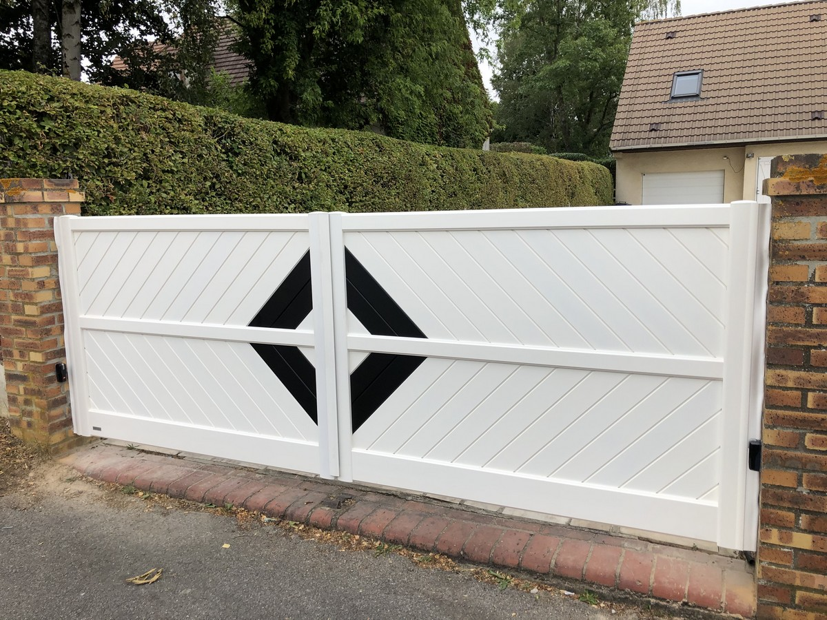 pose portail clermont oise - Baie Libre